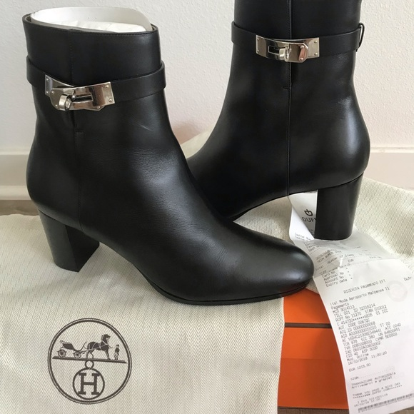 f2aba0a87f Hermes Shoes | Authentic Herms Saint Germain Ankle Boot Nib 39 ...